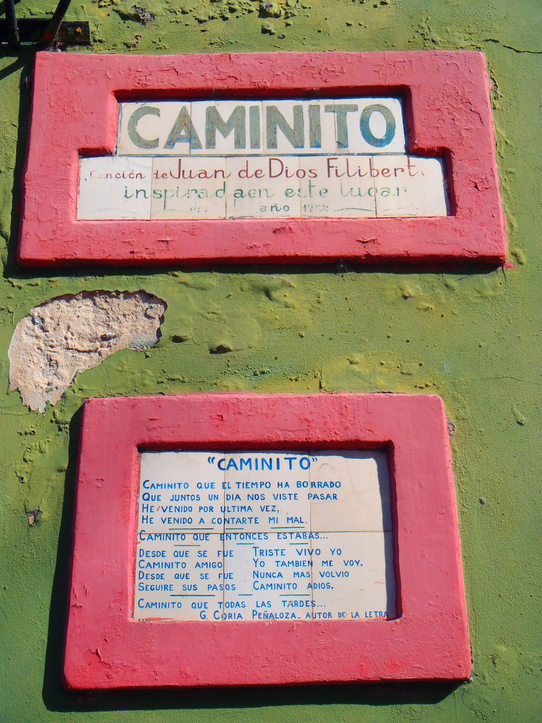 Caminito Signs