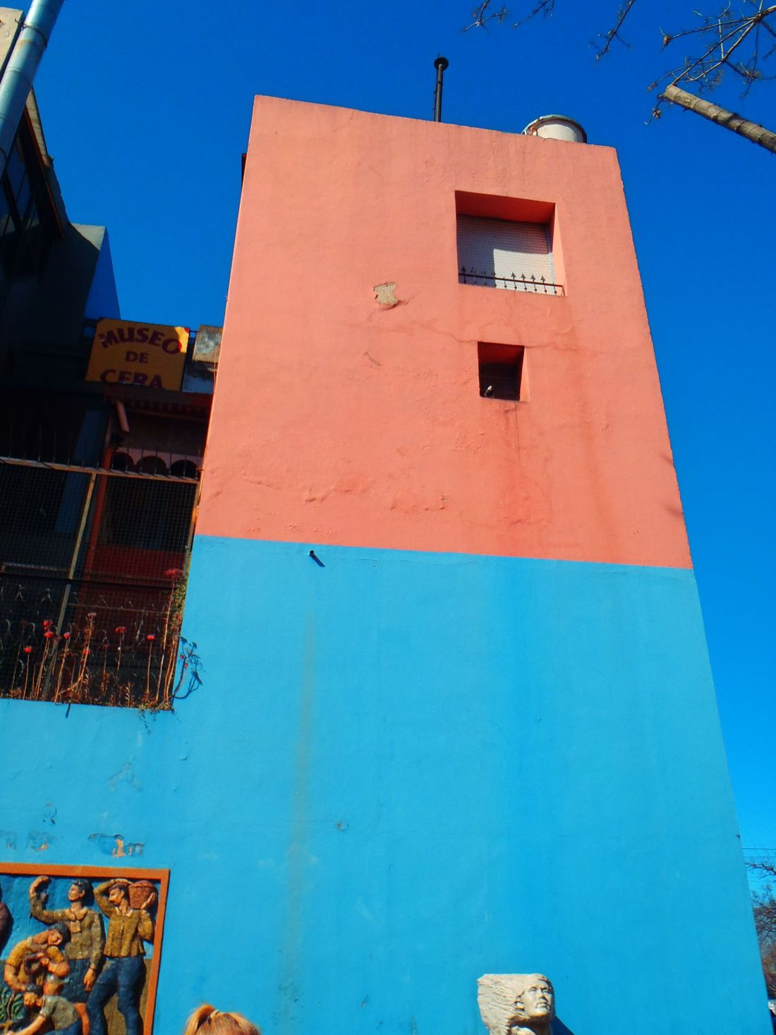 Colourful buildings in La Boca