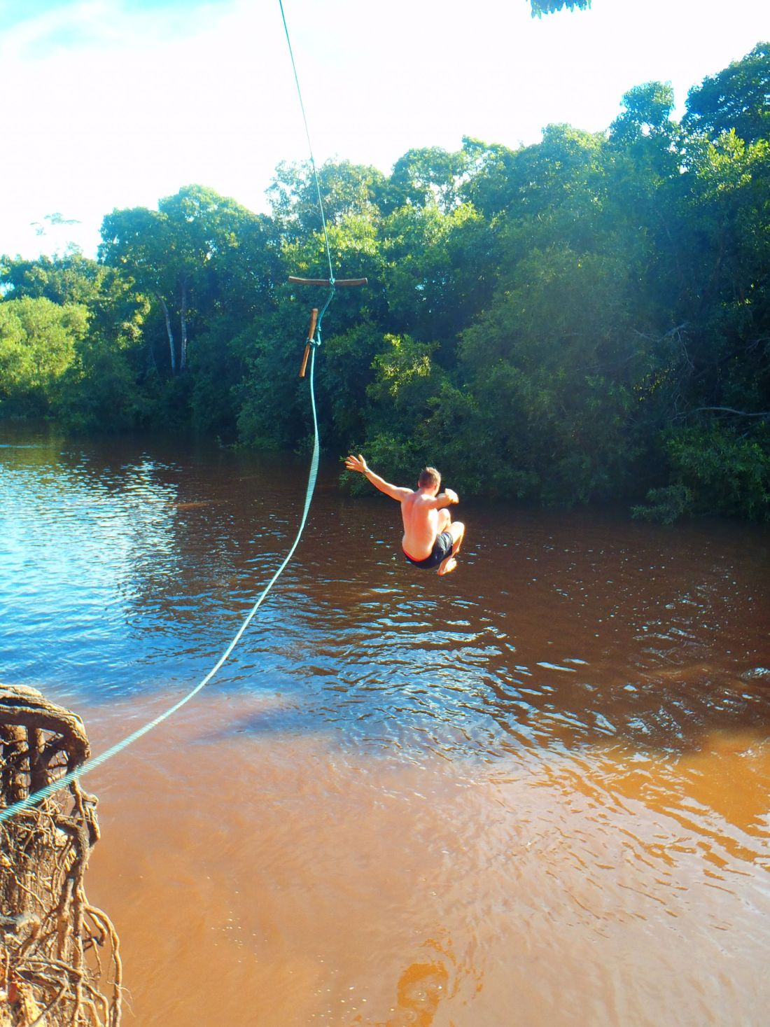 Rope Swing in Amazon