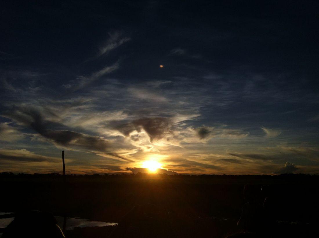 Sunset on Pampas Tour