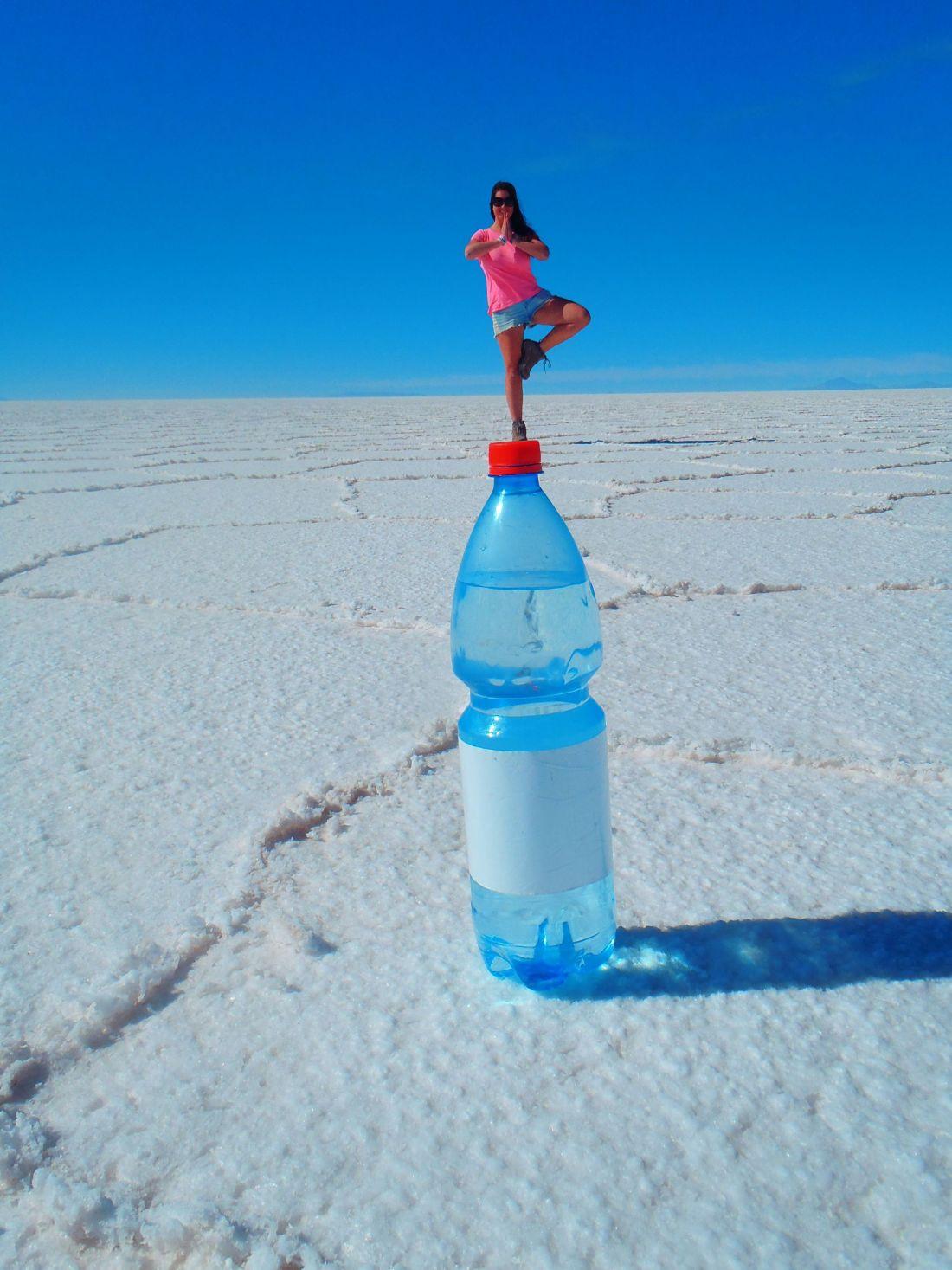 Bottle Photo Salar de Uyuni