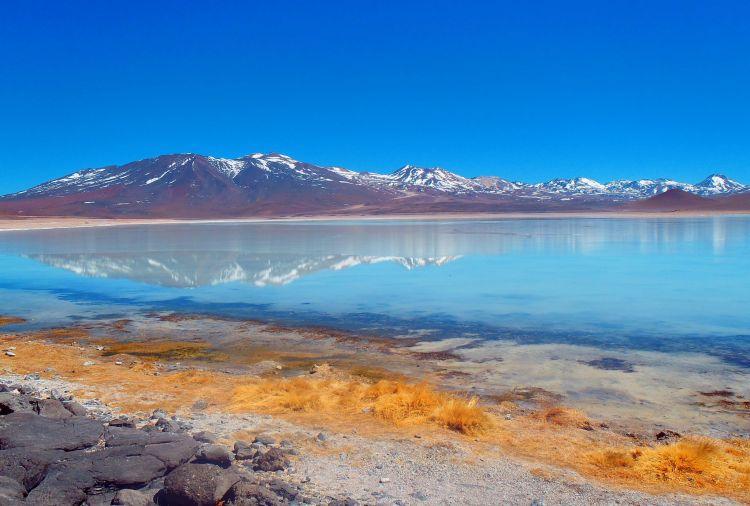 Lagoons Atacama Desert