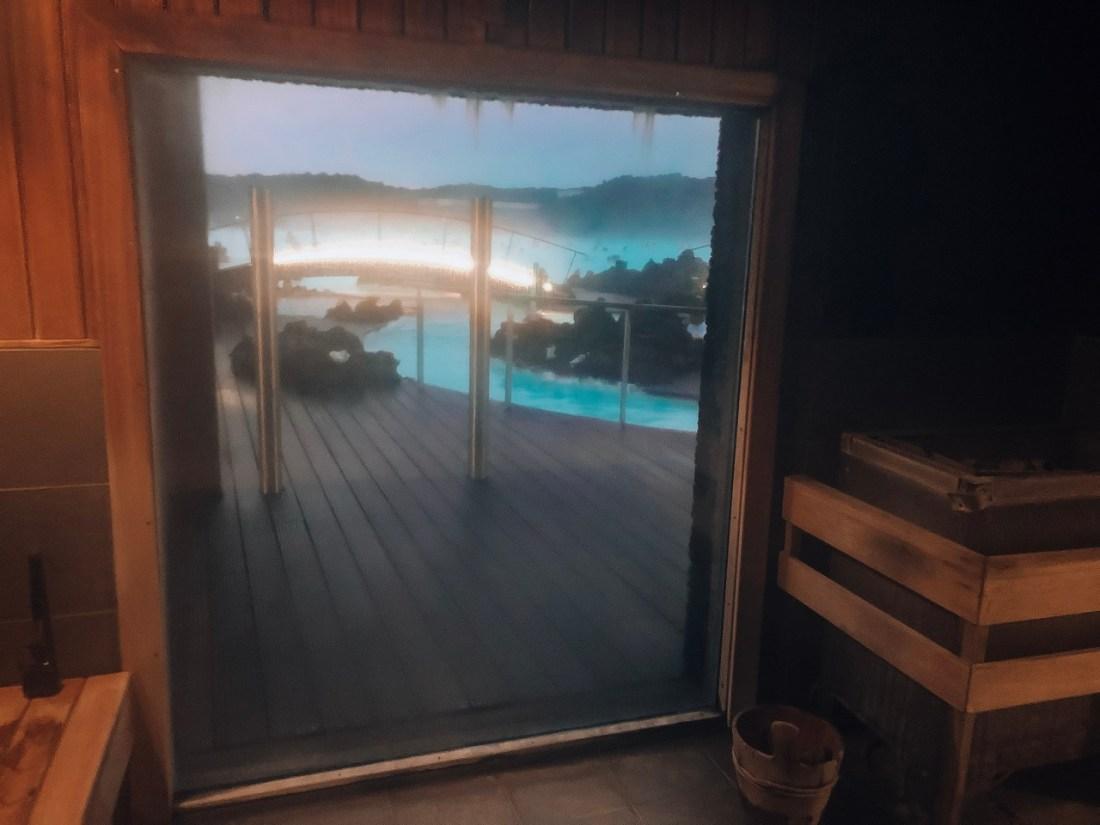 Blue Lagoon Iceland Sauna