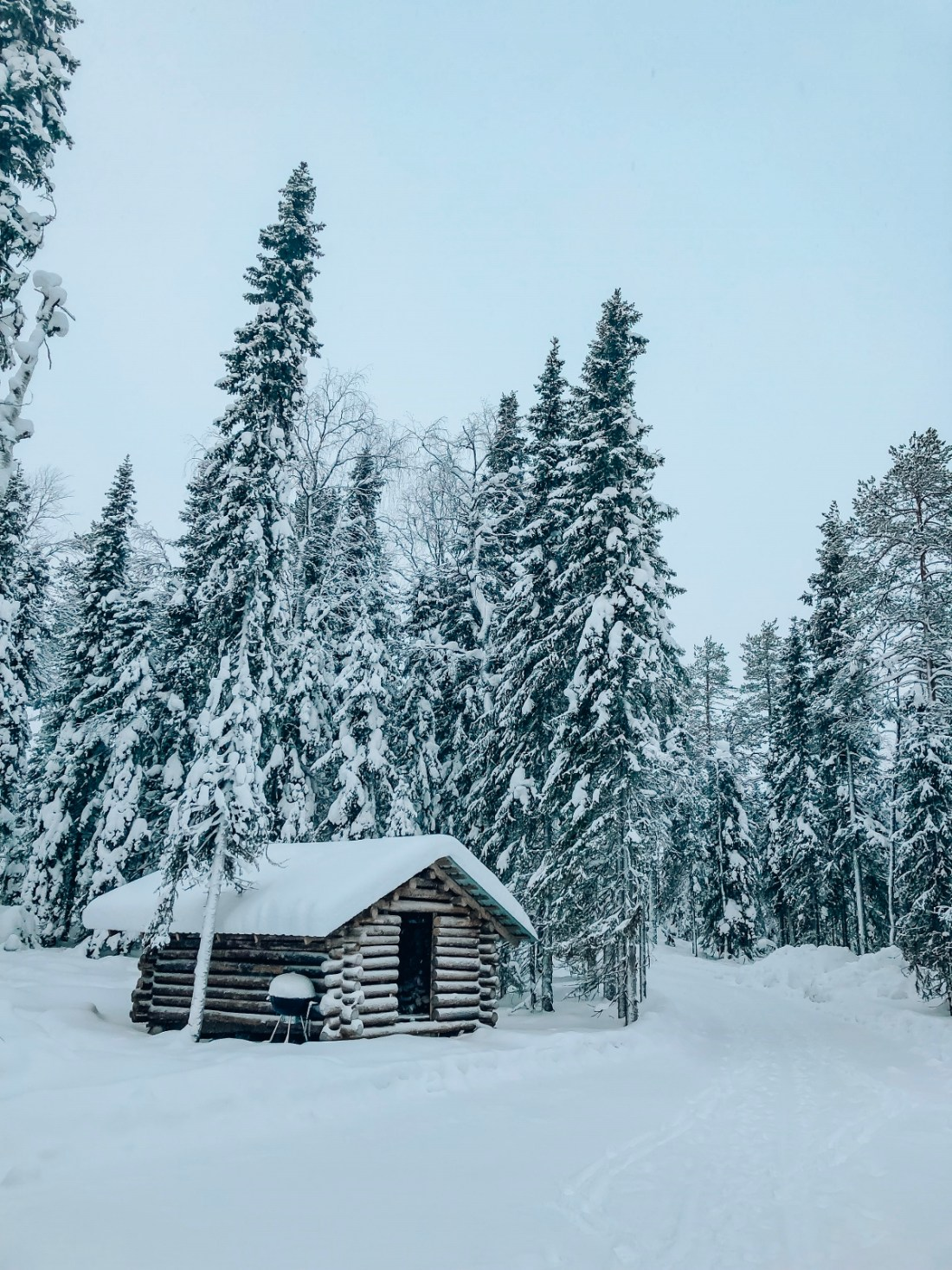 Cabin in the Snow Lapland