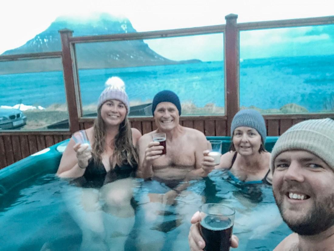 Hot Tub Views in Grundarfjörður