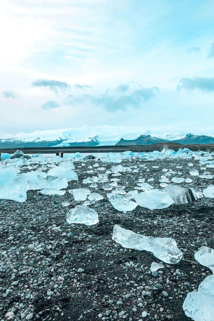 Visiting Iceland's Diamond Beach