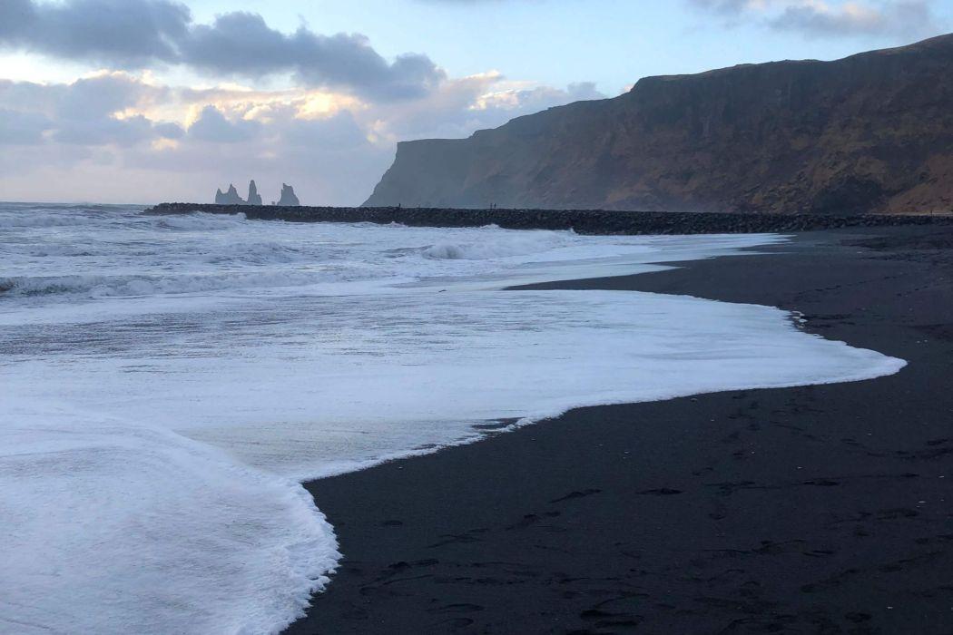 Iceland's South Coast: Black Sand Beaches & Glaciers