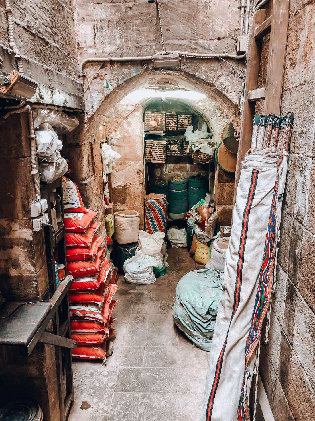Bazaar shopping in Cairo