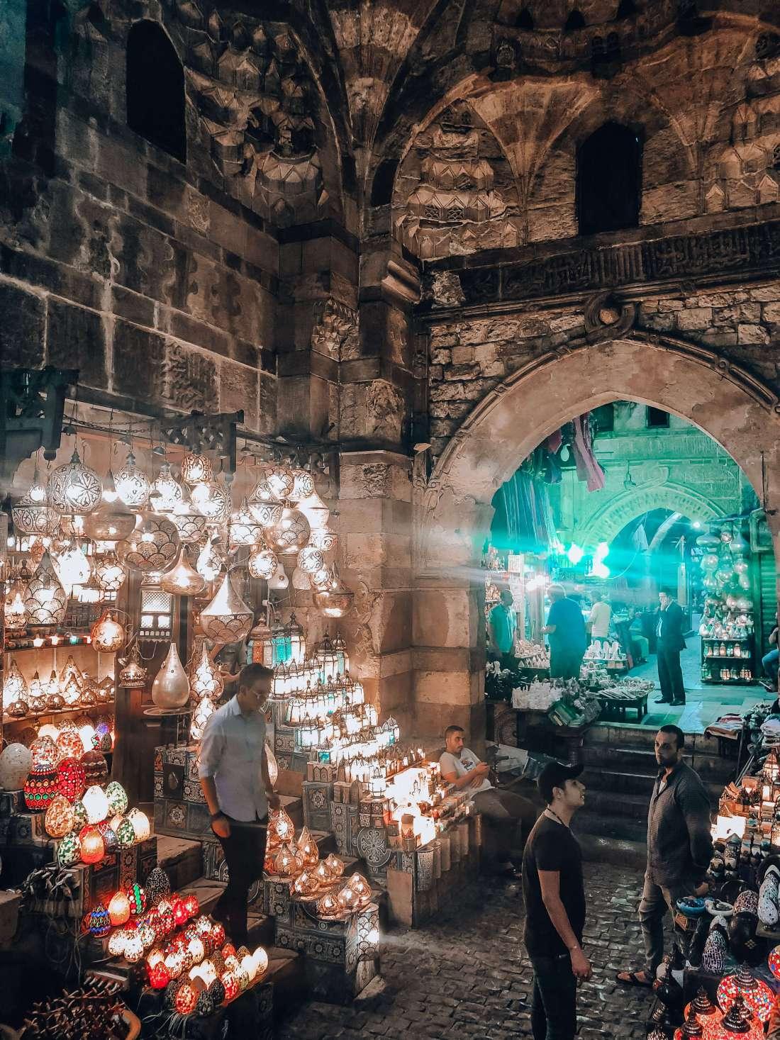 Khan el-Khalili Bazaar Cairo