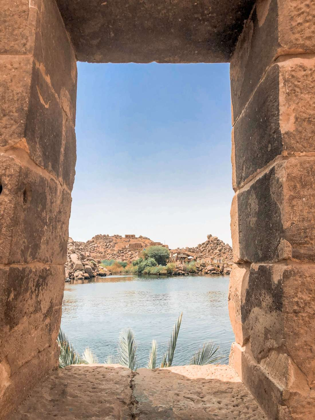View of Nile from Philae Island