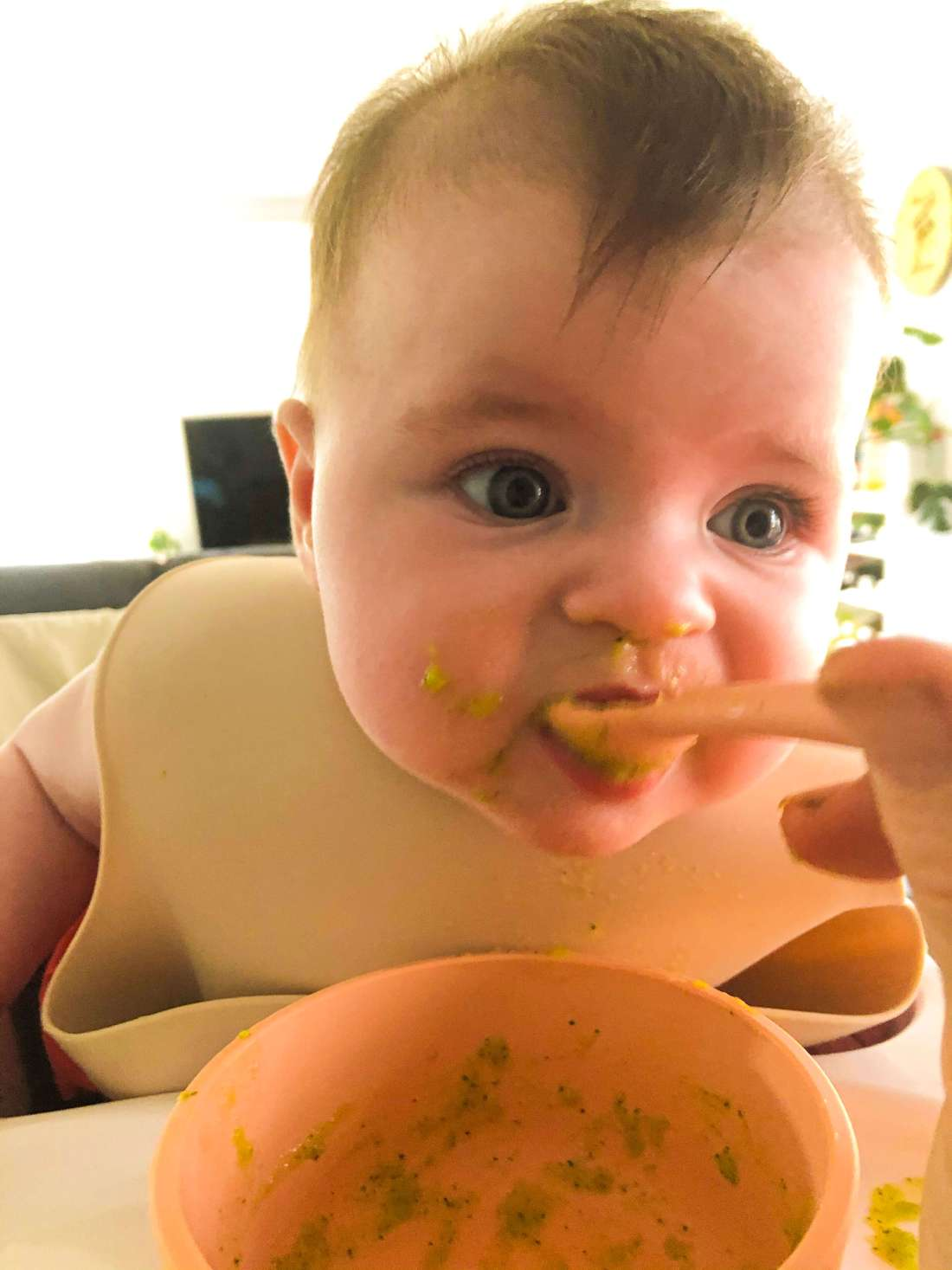 Vegetable-First-Baby-Weaning-Zucchini