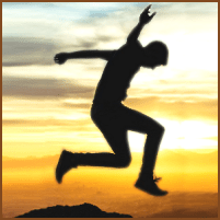 The Austin Alchemist Media Company offers body mind spirit news resources and events - silhouette-jump-sunset-freedom