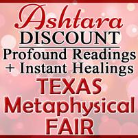 Ashtara Sasha White - Texas Metaphysical Fair - October 2017