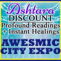 Ashtara Sasha White - Awesmic City Expo - Austin Texas