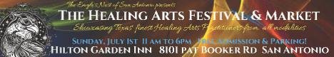Healing Arts Festival And Market - San Antonio - July 2018
