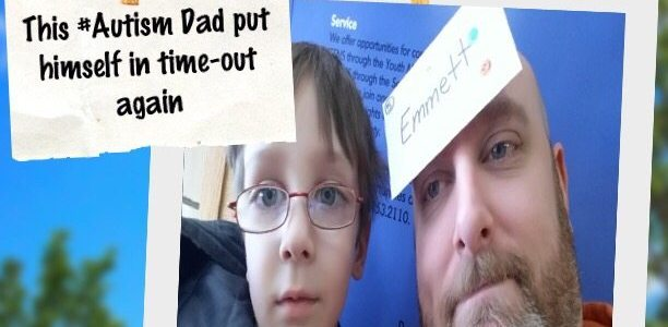 This #Autism Dad had to put himself in time-out again