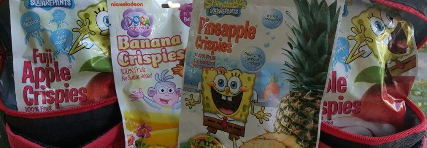 HELP YOUR KIDS EAT HEALTHIER: Healthy Munchy – Lunchbox Friendly Fruit Crispies