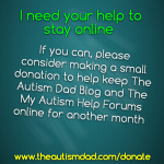 Please stop by and see if you help