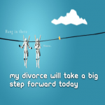 My divorce will take a big step forward today