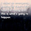 I called an emergency meeting of Elliott's IEP team for today and this is what's going to happen