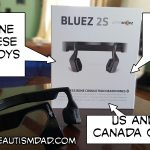 **Giveaway** Win a FREE Pair of AfterShokz Bluez 2S Bone Conduction Bluetooth Wireless Headphones