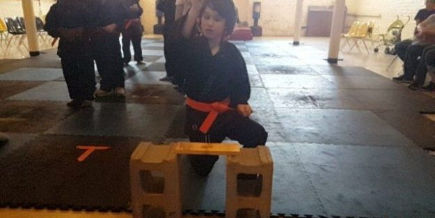 Check out Elliott's Martial Art's Promotion: Breaking Board's and Pushing Through Obstacles I'm so proud of my Elliott. He did so awesome today and his face when he breaks the board is priceless...