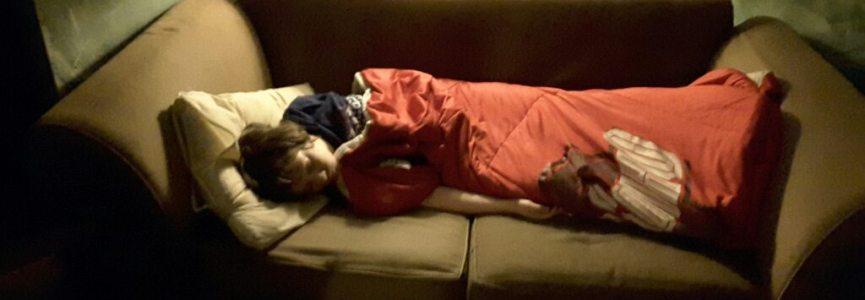 The boys are having a really hard time sleeping tonight
