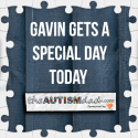 Gavin gets a special day today