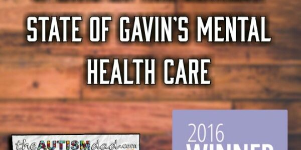 A massive and important update on the current state of Gavin's mental health care