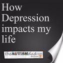 How #Depression impacts my life