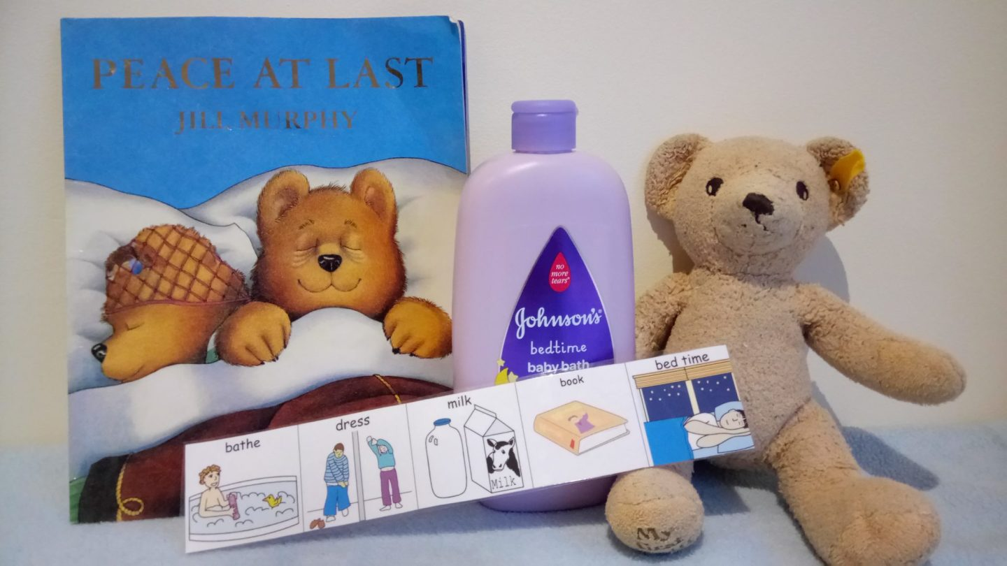 bedtime routine, autism, sleeping, visual aids