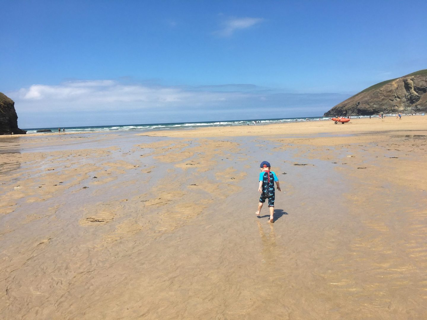 Mawgan Porth Beach holiday in Cornwall
