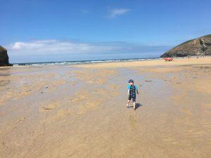 Mawgan Porth Beach holiday in Cornwall