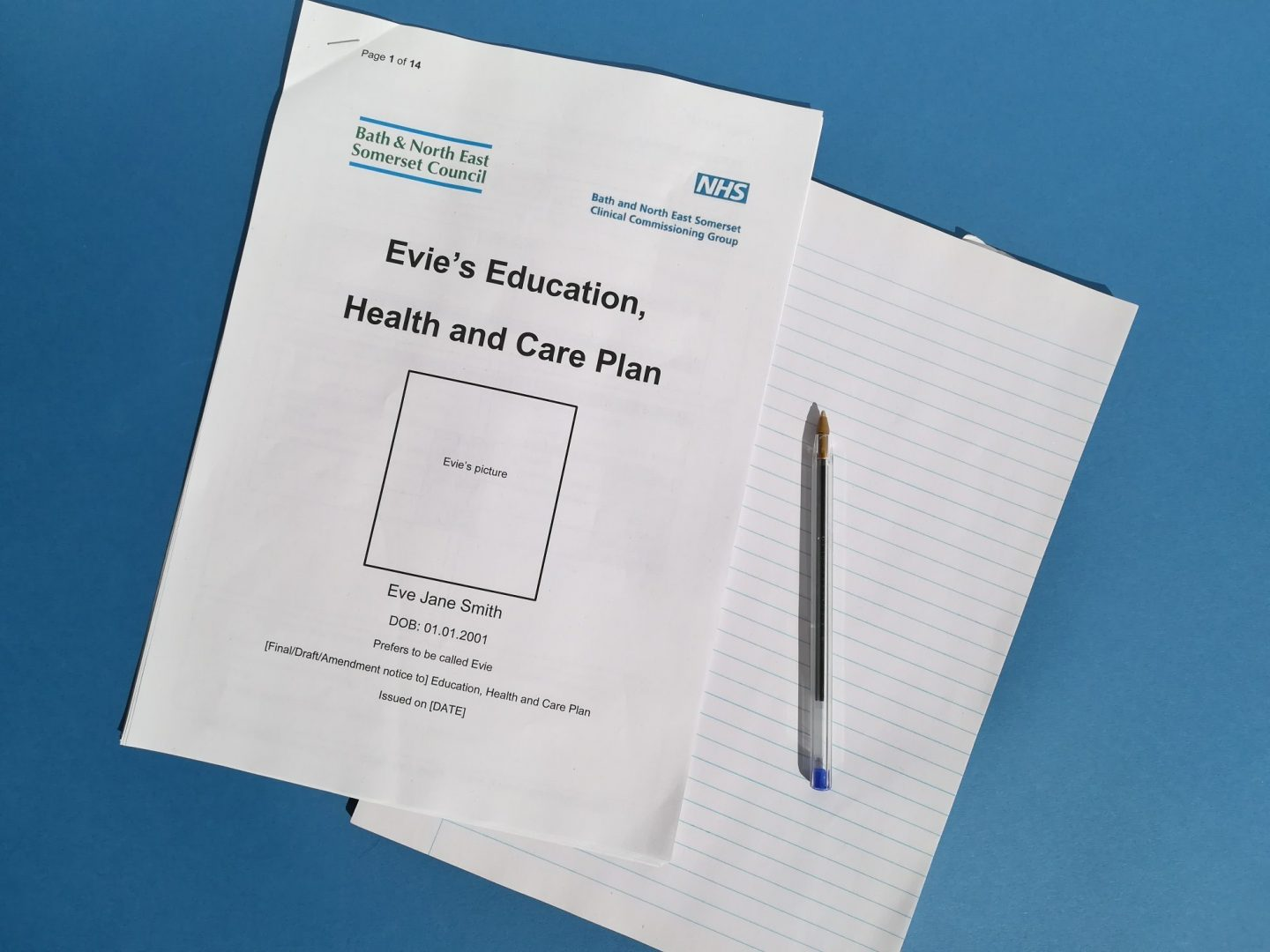 Education health and care plan