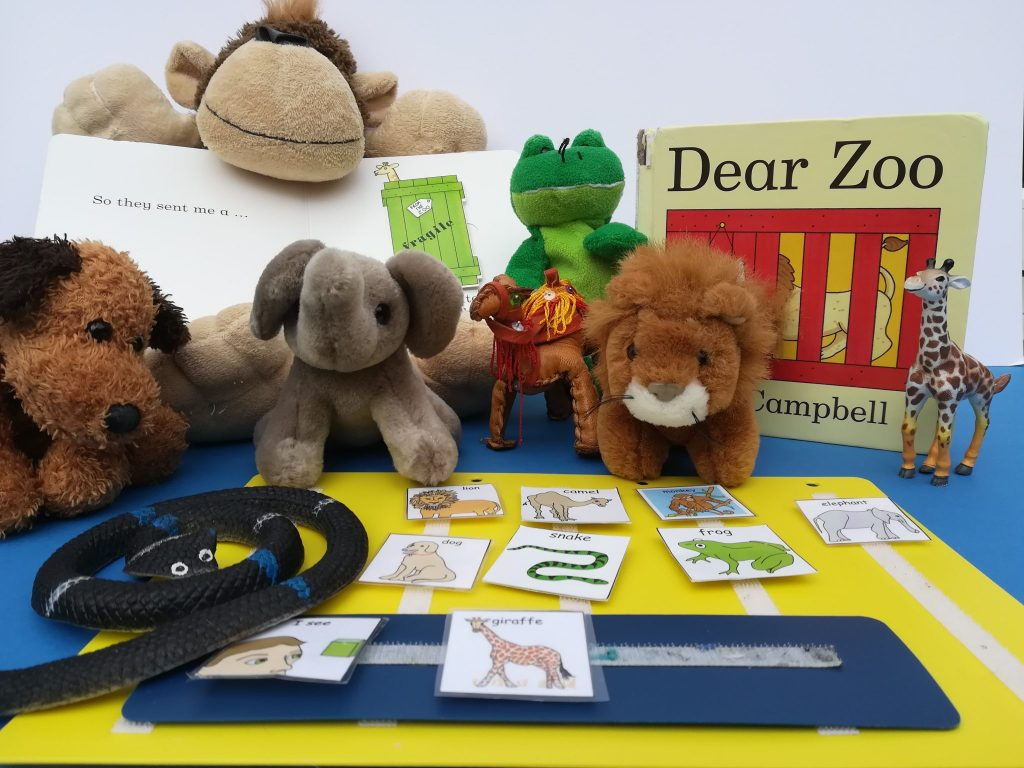 Dear Zoo, Picture exchange communication system
