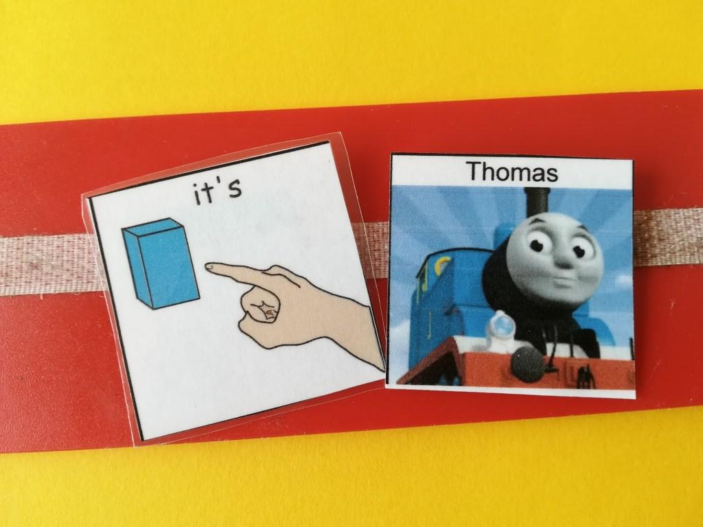 Thomas PECS card