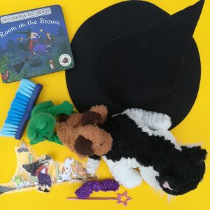 Room on the Broom reading with your child