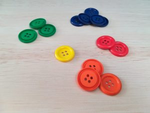 Teacch at home, buttons