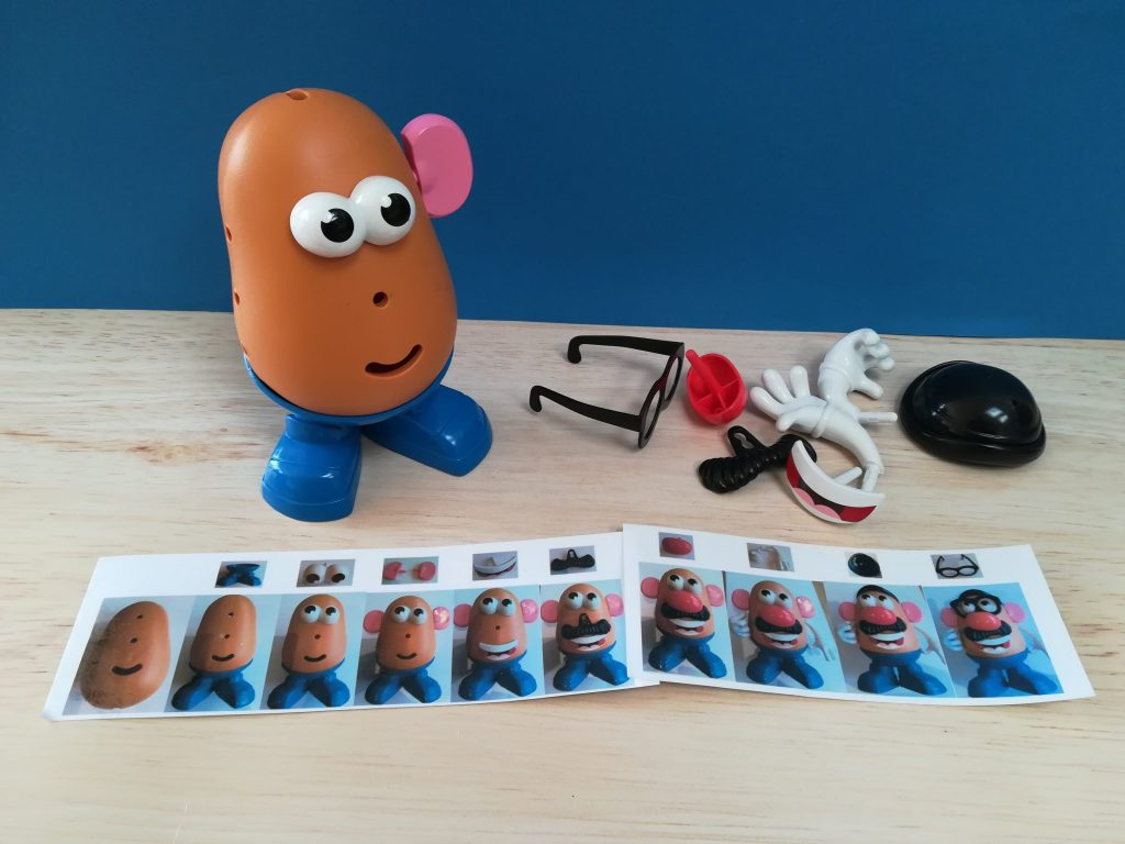 Mr Potato Head, TEACCH at HOME