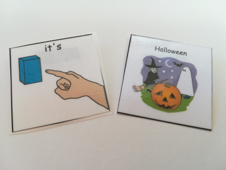 Halloween PECS Cards