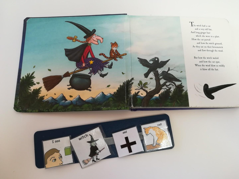 Halloween PECS cards Room on the Broom