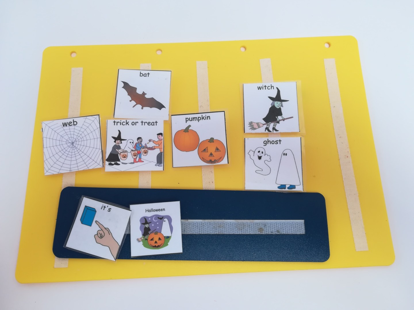 Halloween activities for autistic children.
