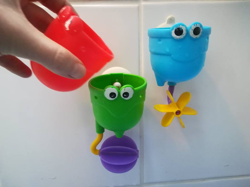 bath toy cups