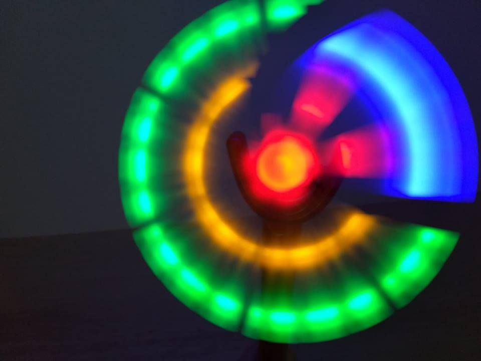 autism Sensory toys strategies Light spinner toy