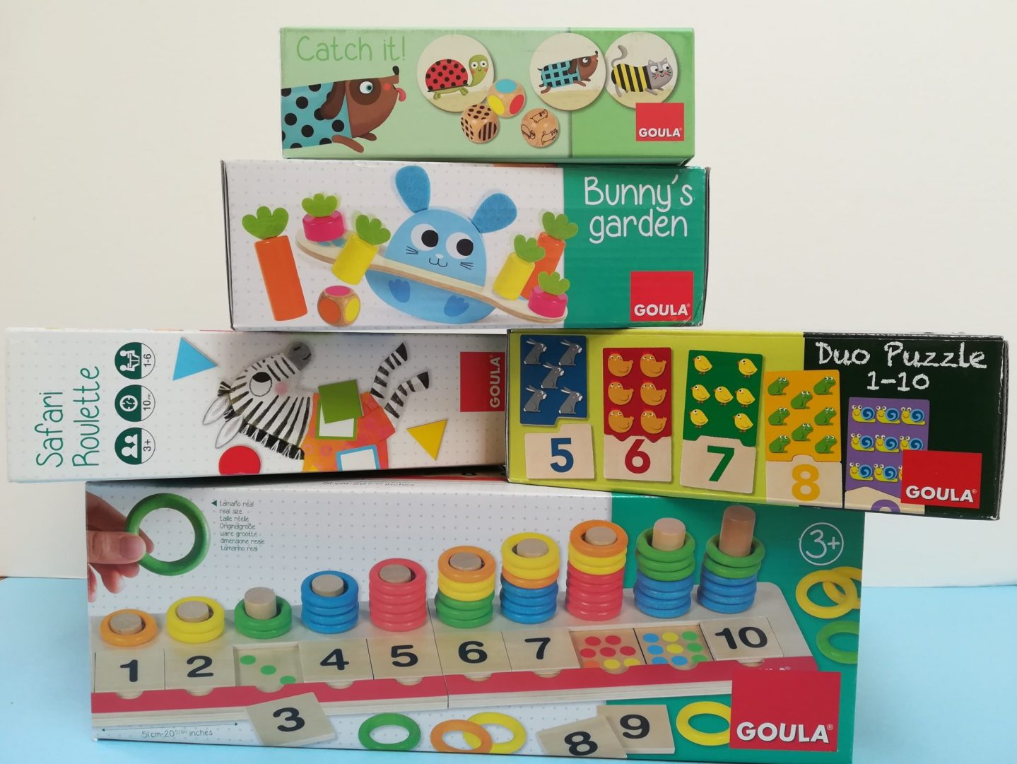 Review of Goula Range from Jumbo Games.