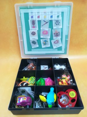 Communication toy box