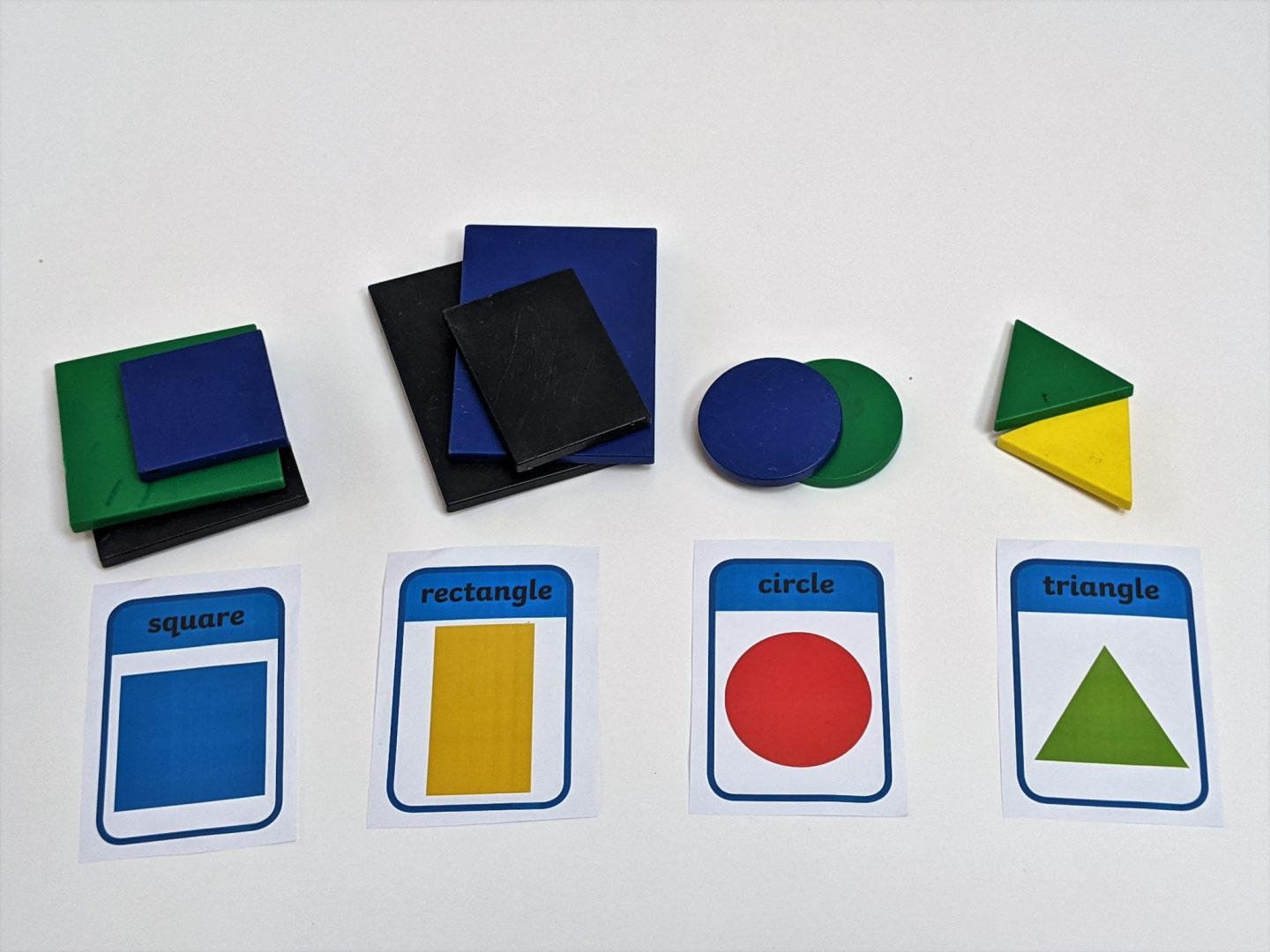 How to learn colours, shapes and sizes easily