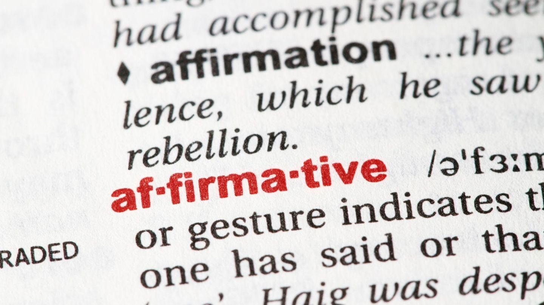 Affirmation definition
