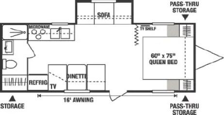 Image result for 2007 Jag 25JS Floor plan