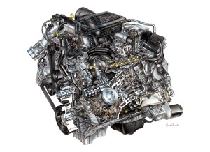 GM'S 2007 Duramax 66L V8 TurboDiesel Delivers ClassLeading Torque While Meeting New